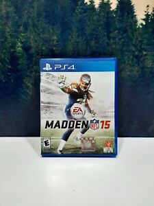 Madden NFL 15 Sony PlayStation 4 PS4 Game