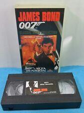 VHS CLASSIC JAMES BOND 007 COLLECTION VINTAGE - ALTA TENSION