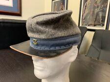 Civil War, Confederate Grey wool High-Quality, hand made Kepi - Size Large