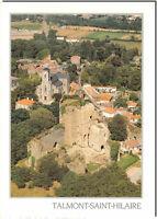 CPM - TALMONT-SAINT-HILAIRE - Vue aérienne le Château