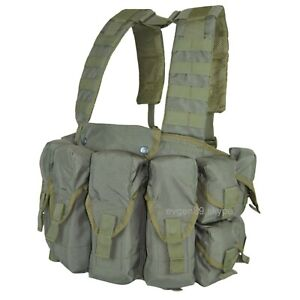 SPOSN / SSO Tactical Vest Lazutchik M Olive Russian Scout Chest Rig