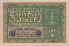 """Ro.062a 50 Mark 1919 """"Reihe 1"""" (1)"""