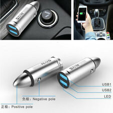 Auto Car Dual USB Quick Charger 5V 3.1A Cigarette Lighter Adapter for Phone Pad