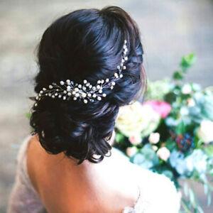 Women Bride Bridal Hair Comb Party Decor Headwear Pearl Jewelry Gift Fashion