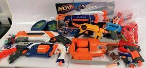 Large Bundle Of Nerf Guns & Soft Bullets Fortnite Boys Girls Role Play #796