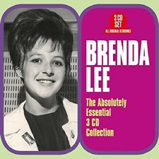 Absolutely Essential 3 Cd Collection - Brenda Lee (2018, CD NEUF)