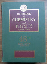 CRC HANDBOOK of CHEMISTRY & PHYSICS 48th EDITION - Chemical Rubber Company