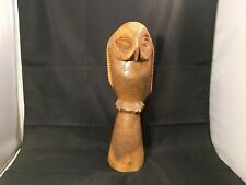 Wood Carved Owl – 32 cm Tall (WC1815)