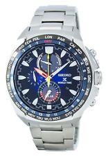 Seiko Prospex World Time Solar Chronograph SSC549 SSC549P1 SSC549P Mens Watch