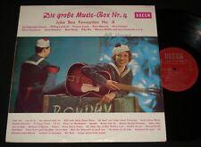DIE GROSSE MUSIC-BOX # 4 LP AUSSIE RED DECCA Caterina Valente 1960s TEEN POP