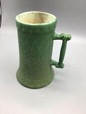 Hampshire pottery handled drinking tankard