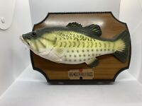 Gemmy Big Mouth Billy Bass Singing 1999 Original Box 36136 With Video