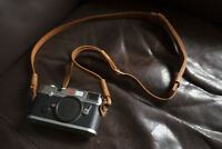 Genuine Real Leather Camera Shoulder Neck Strap for DSLR EVIL camera 01-158