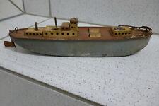Blechspielzeug Schiff Boot Frachtschiff