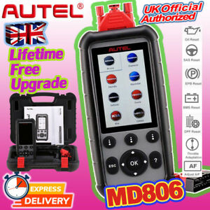 Autel MD806 Professional OBD2 Scanner Diagnostic Tool ABS SRS EPB BMS DPF MD808