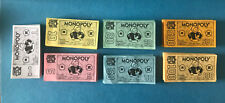 Monopoly NFL Monopoly Money Limited Collectors Edition 1998 Replacement Gr8