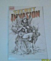 Secret Invasion #3C Third Printing Variant Marvel 2008 Disney+ Leinil Yu 3rd