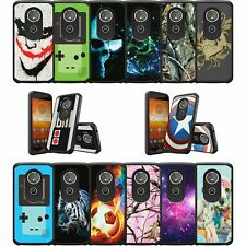 For Motorola Moto E5 / G6 Play / G6 Forge Slim Protective Dual Layer Cool Case