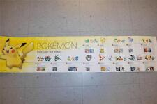"Pokemon X Y Timeline Exclusive Limited Poster Preorder 8"" X 36"" Display"