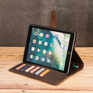 ipad Pro 9.7 Protective Case Crazy-horse leather Protection Stand Cover Case