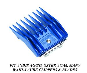 """ANDIS GUIDE ATTACHMENT UNIVERSAL CLIPPER BLADE # 3 COMB 5/16""""/8mm Pet GROOMING"""