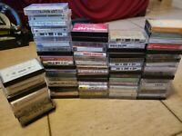 Lot of 10 Random Cassette Tapes
