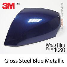 152x250cm LÁMINA Brillante Azul Oscuro Metalizado 3M 1080 G217 Vinilo CUBIERTA