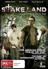 Stake Land (DVD, 2011)EX RENTAL I CAN POST DISC, CASE, AND ARTWORK FOR $3 OR 5 F