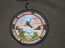 2013 National Jamboree Stadium Experience Team Patch       JF1