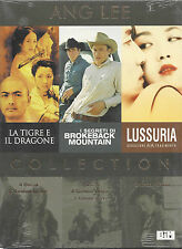 3 Dvd Video Box Cofanetto LA TIGRE E IL DRAGONE LUSSURIA I SEGRETI... di Ang Lee