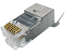 10x Cat6 Cat6a Cat7 RJ45 Modular Plug Solid/Stranded Shielded 22AWG-26AWG 022