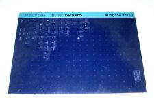 Microfich Ersatzteilkatalog Vespa Super bravo Stand 89