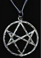 New Celtic Unicursal Hexagram Genuine Sterling Silver .925 charm Wicca Jewelry