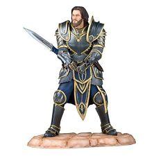 2016 Blizzard WARCRAFT LOTHAR 1:6 Statue Travis Fimmel Vikings LIMITED To 220 !