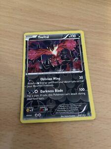 Pokemon Card Rev Holo Yveltal 65/114 Inc Free Card Deal