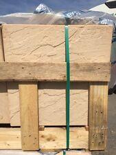 BRADSTONE DERBYSHIRE RIVEN SANDSTONE COLOUR PATIO PAVING SLABS  450x450mm  07248