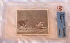"1912 Hassan Triple Folders T202 ""#27 Cree Rolls Home"" BVG (Beckett) Graded Auth"