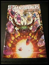 IDW Comics: Transformers Unicron Issue 6 - Cover A (Oct 2018)
