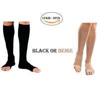 PEDIMEND™ Open Toe Knee High Compression Stockings (1PAIR) - For Varicose Veins