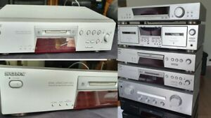 Sony MDS-JE480 MiniDisc Player and Recorder with Remote Control