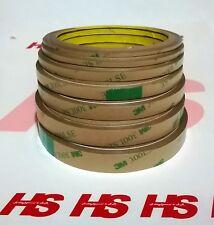 NASTRO BIADESIVO 3M rotoli da 5m altezze da 2,3,5,8,10,12mm, per strisce led