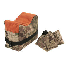 Camo Front&Rear Sandbag Oxford Cloth Unfilled Bag for Shooting Rifle Support