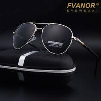 2019 HD Polarized Sunglasses Men's Driving Pilot Glasses Outdoor UV400 Eyewear