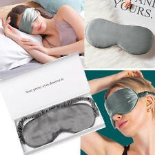 Travel Silk Sleep Eye Mask Blindfold Sleeping Eyepatch Soft Padded Shade Cover