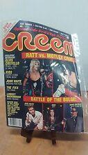 America's Only Rock 'n' Roll Magazine Creem February 1985(Fc17-3-B)