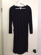 MNG by Mango Black Long Sleeve Dress Size L