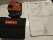 GOOD CALIBRATED HILTI PMC46 SELF-LEVELING COMBI LASER PMC 46 IN BAG