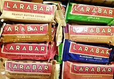 63 LARABAR BARS PROTEIN ENERGY SNACK NUTRITION BAR 8 FLAVOR VEGAN GLUTEN FREE SH