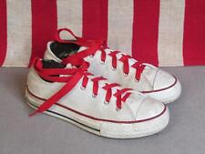 Vintage Converse Chuck Taylor Low Top Basketball Sneakers Shoes Size 2 Boys