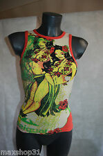 TOP TEE SHIRT  DESIGUAL VAHINE SEXY   TAILLE S/36  TBE